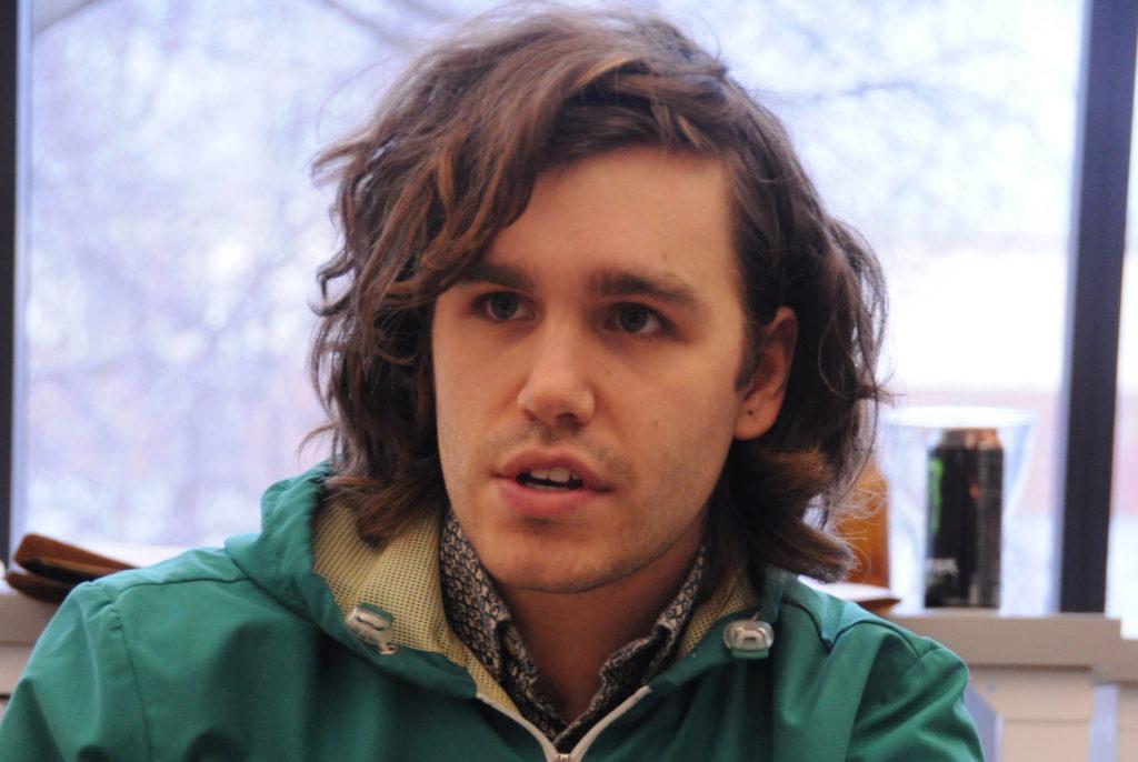 Meet a Mac artist: Kevin Hollidge combines art and politics