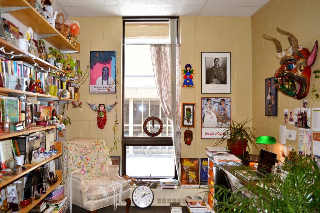 Welcome to my crib: Professor Teresa Mesa of Hispanic Studies