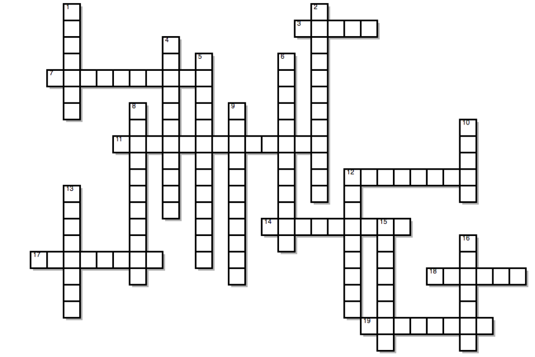 Crossword 2/24: