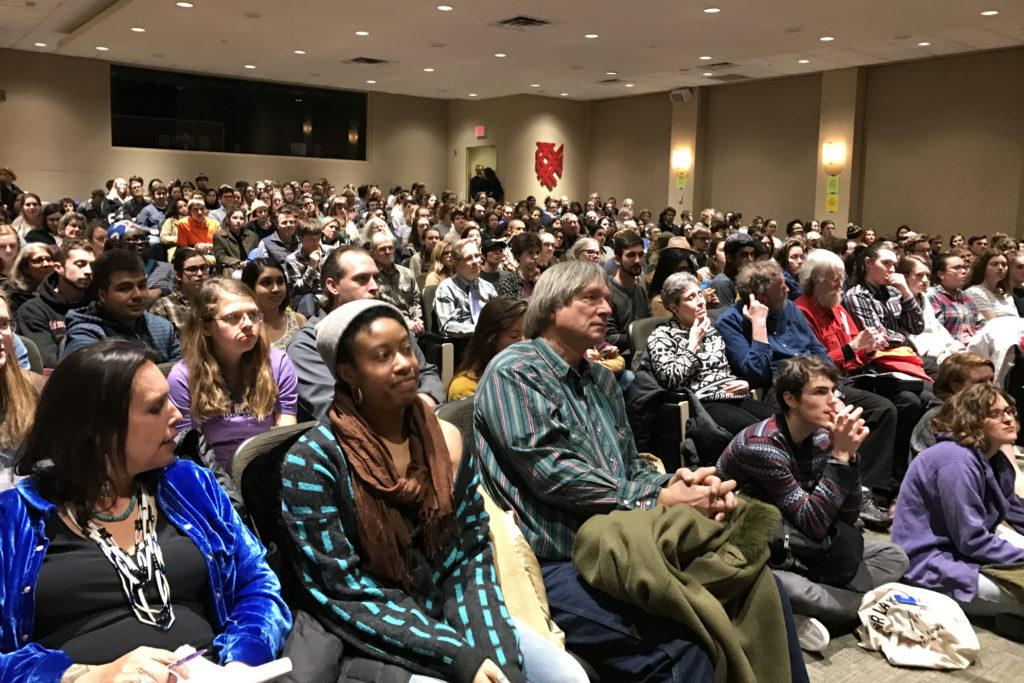 Environmental activist Winona LaDuke advocates for divestment