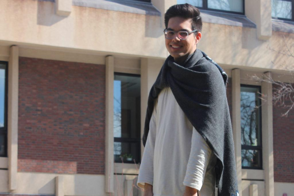 Style File: Chris Mendoza, Macalester's fashion chameleon