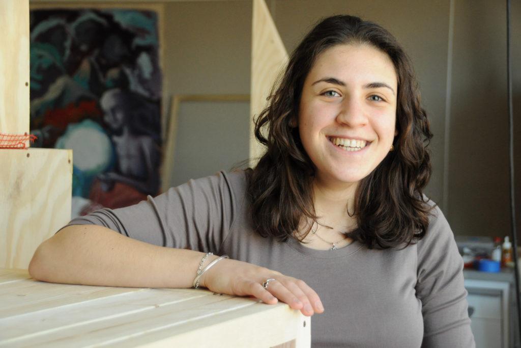 Meet a Mac artist: Julia Eshaghpour finds inspiration in construction