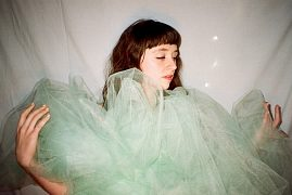 Katie Crutchfield, the founder of Waxahatchee. Photo courtesy of Jesse Riggins.