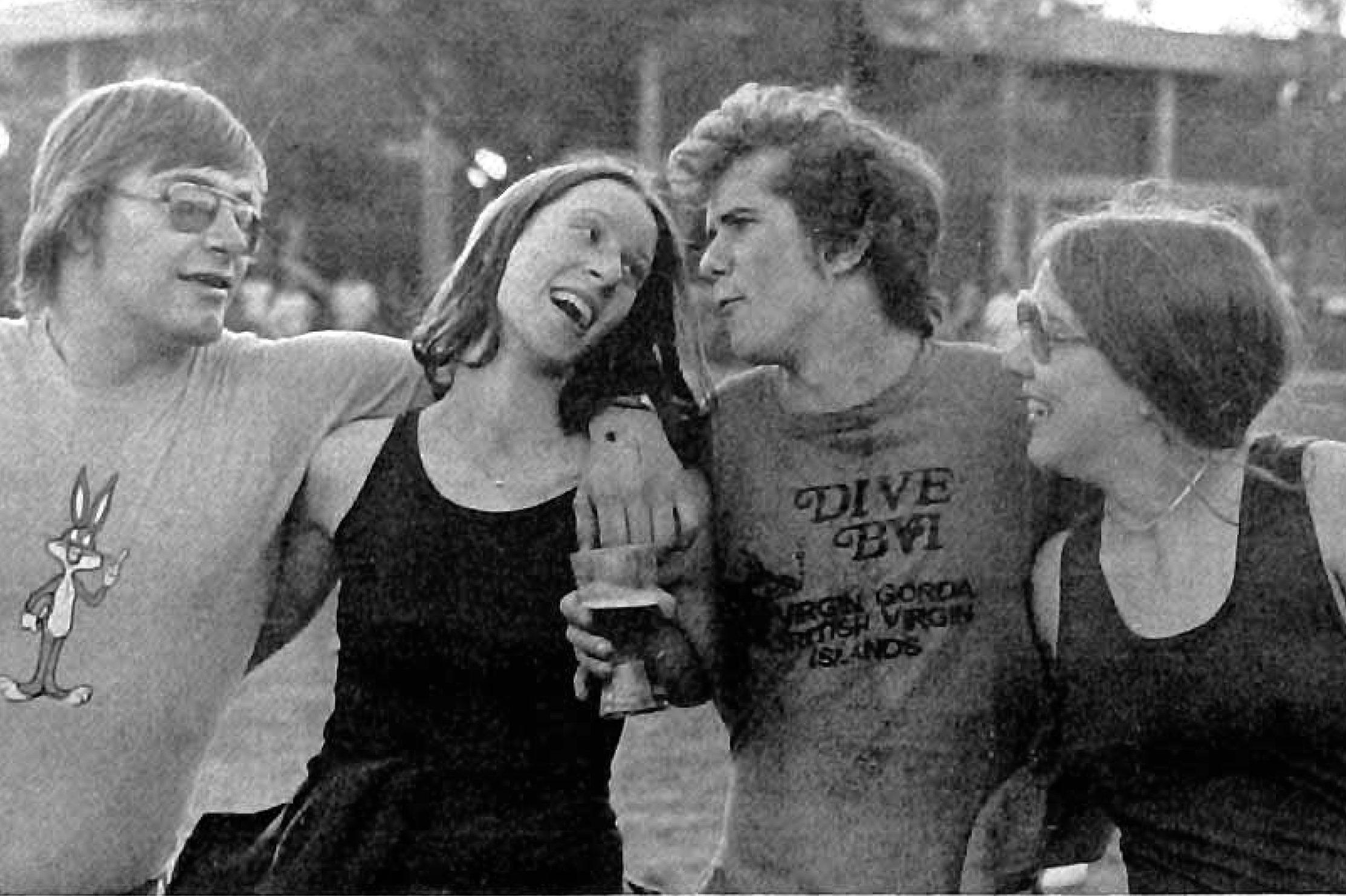 Uncredited Mac Weekly photo of Springfest 1977.