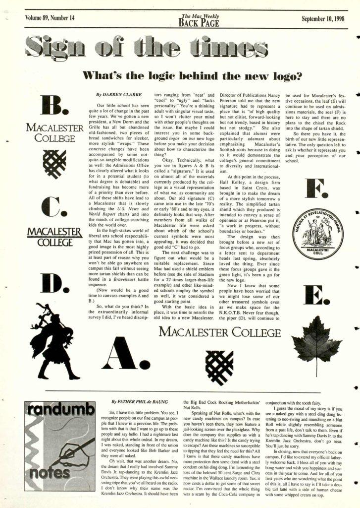 Way Back at Mac: reminiscing on logo lingo