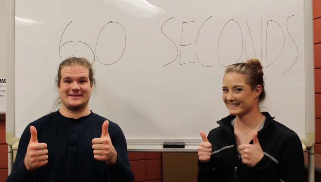 60 Seconds with a Mac Athlete: Allison and Taylor