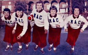 Way Back at Mac: I think I found myself a cheerleader