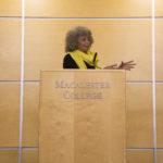 Angela Davis speaks on capitalism, feminism, and global politics