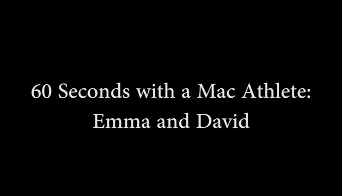 60 Seconds: Emma and David
