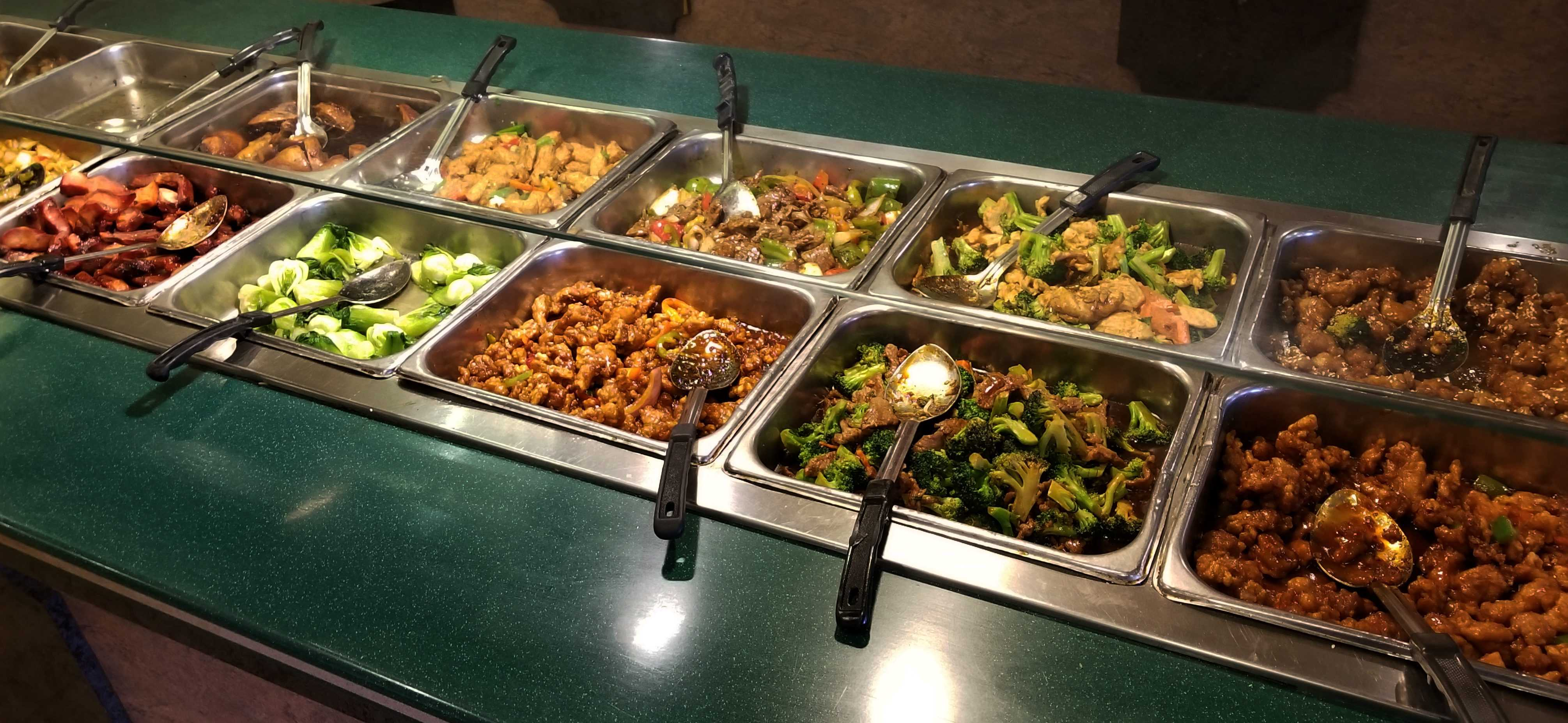 Peking Garden offers an extensive menu and buffet off of Snelling