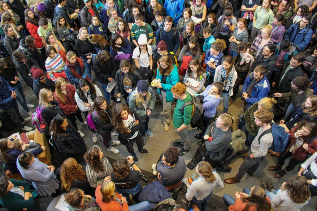 Three months on, administration and students shape walk-in response