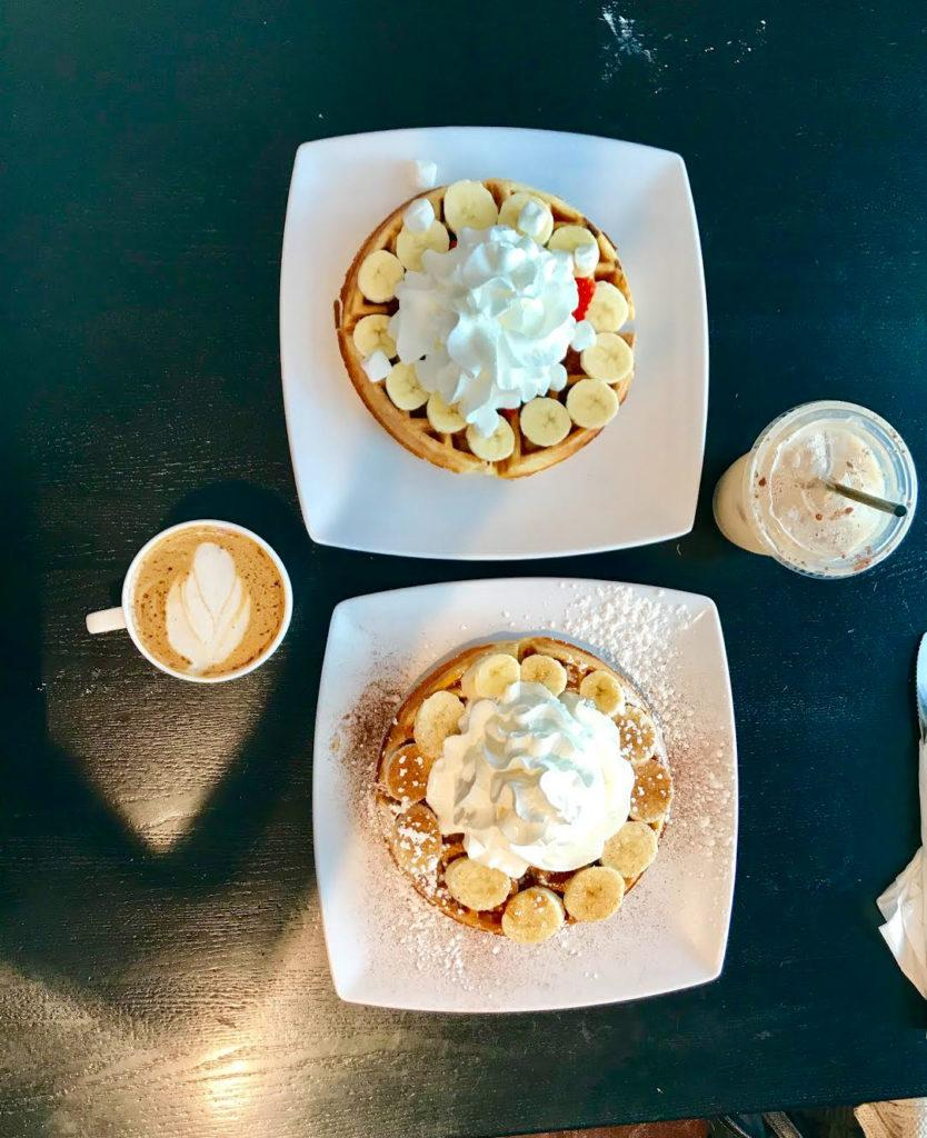 Black Coffee and Waffle Bar: Sweet and savory waffles all day