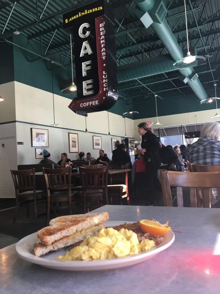 Louisiana Cafe: A classic American diner for a Sunday brunch