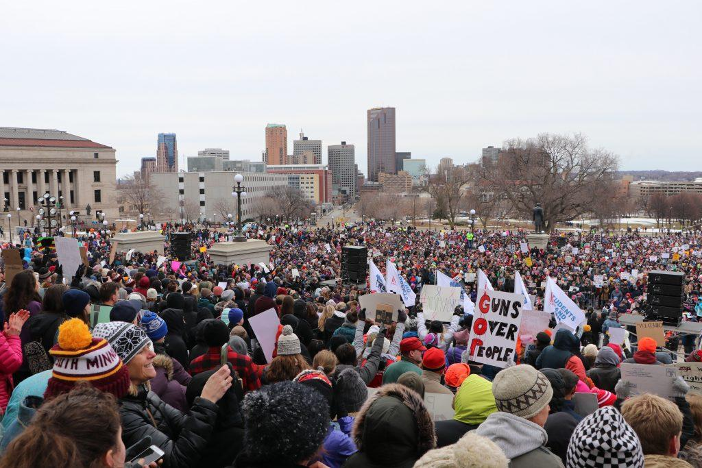 Macalester students and faculty join March for Our Lives at capitol