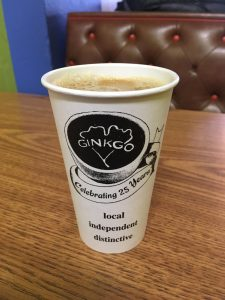 Ginkgo Coffeehouse: Chill local vibes, but a caffeine travesty
