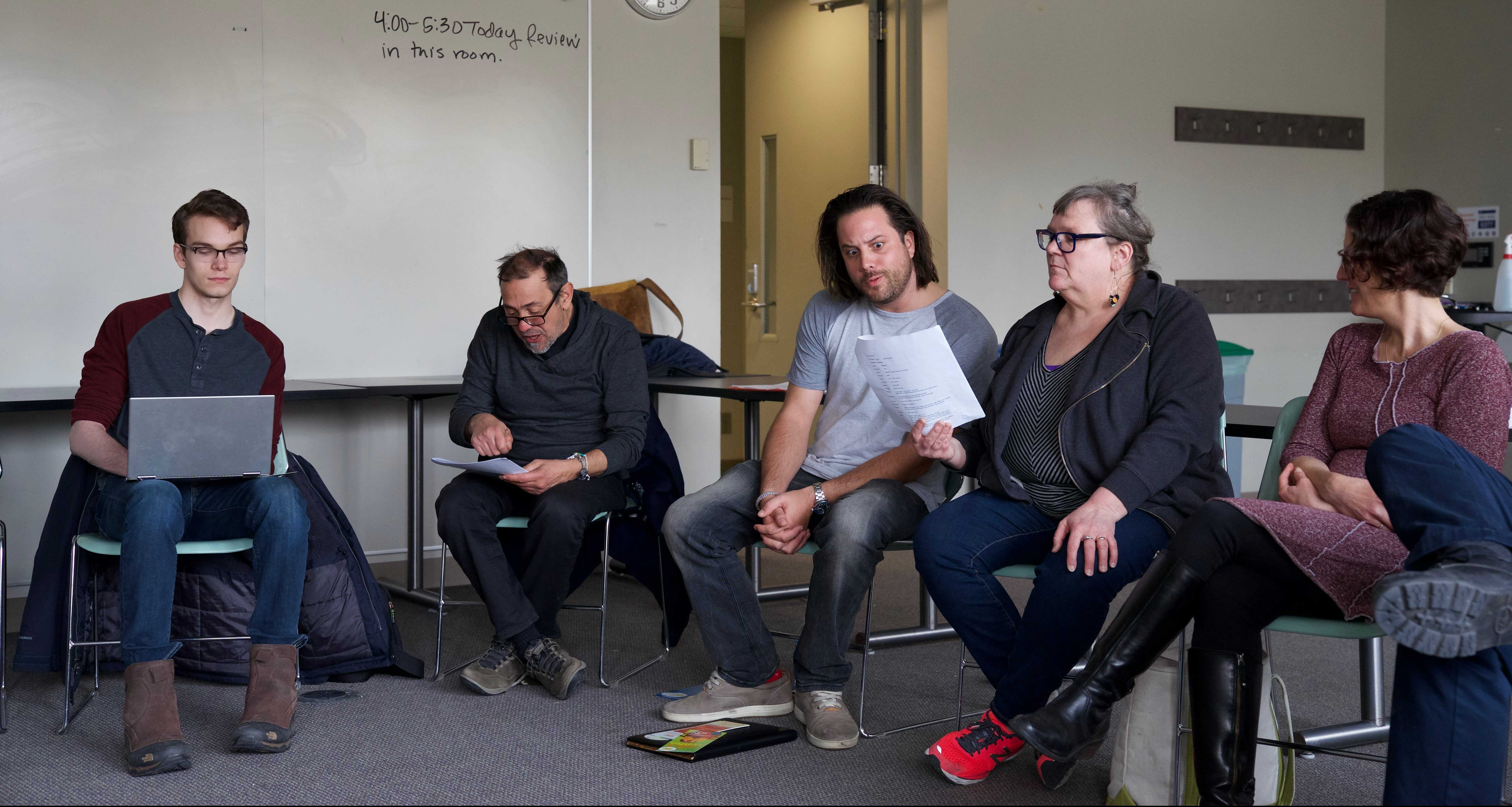 """Panel discusses new """"Lorax"""" play for EnviroThursday"""