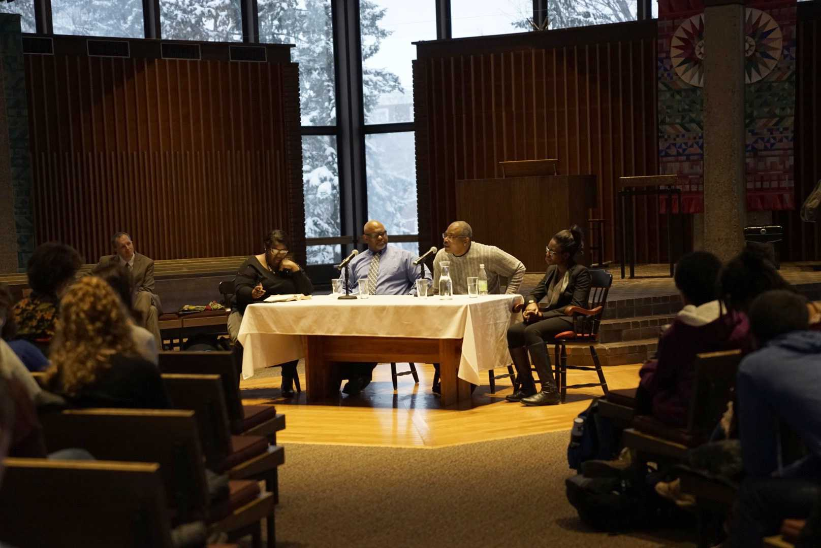 Panel honors MLK's legacy