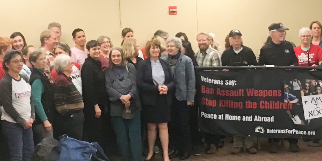 Murphy holds town hall on gun violence