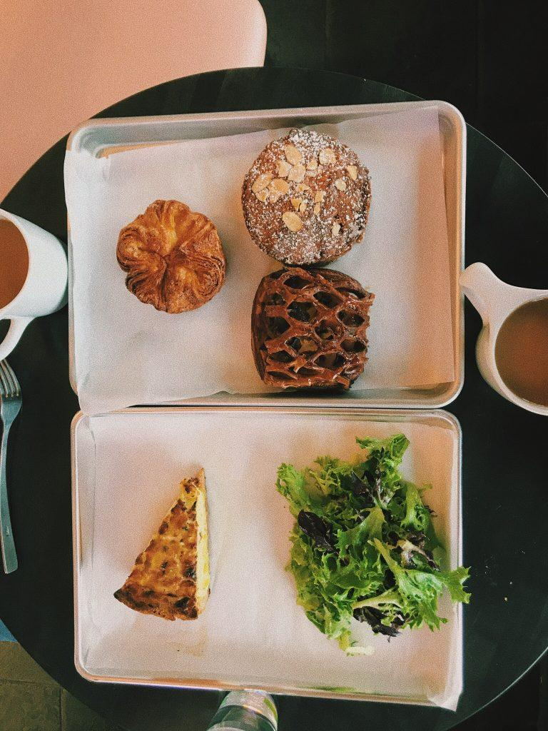 An assortment of some of the artisinal pastries. Photo by Maya Siskin-Lavine '20.