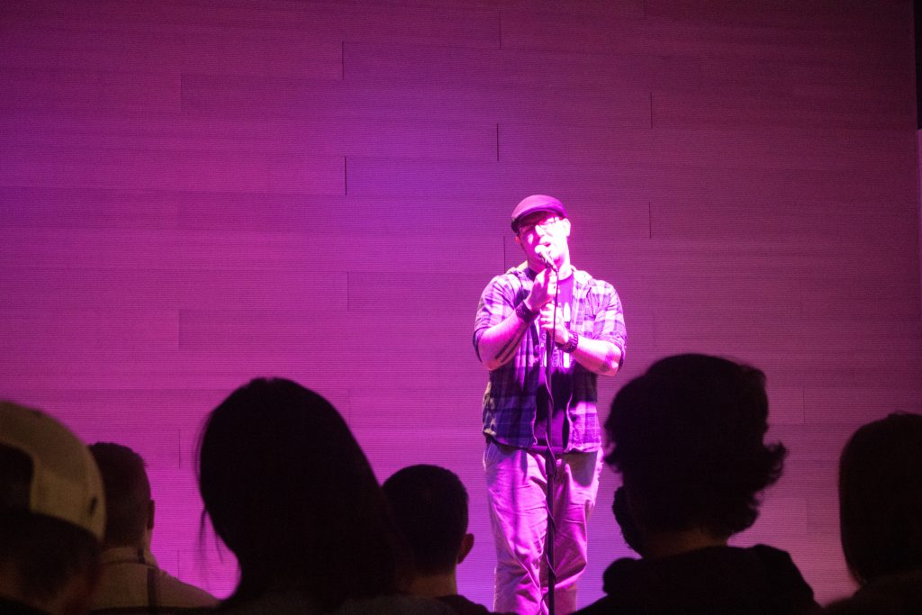 Guante Performs at Mac's September Slam