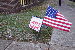 Voter turnout up at Macalester
