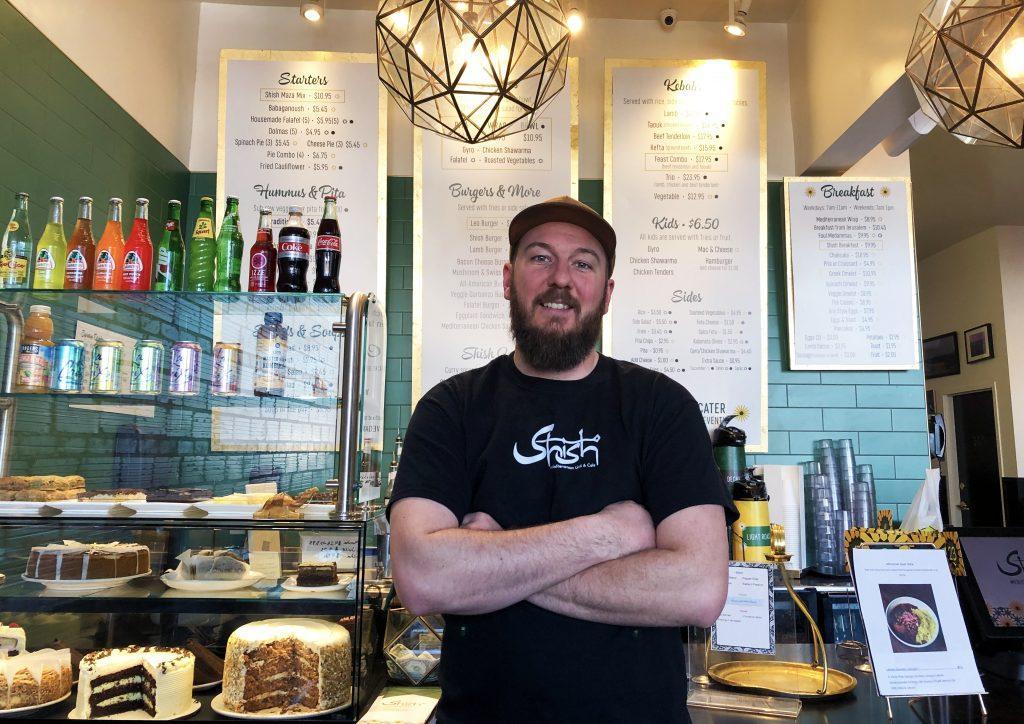 Brandon+Randolph%2C+new+chef+at+shish.+Photo+by+Lily+Denehy+%2722.