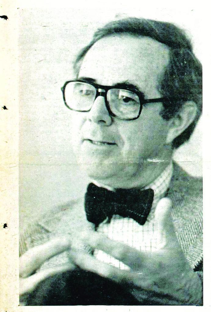 Founder John B. Davis: wearing bow ties and avoiding bankruptcy