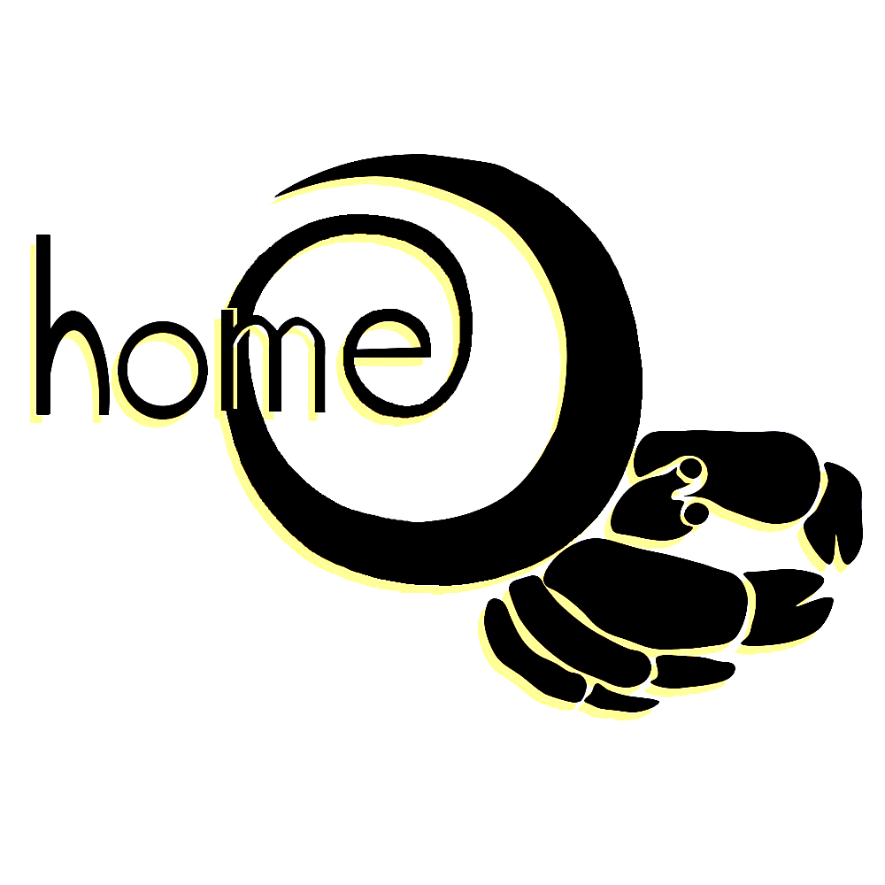 The logo for Home is a hermit crab representing how home can be wherever you make it and is not only one place. Photo courtesy of Home magazine.
