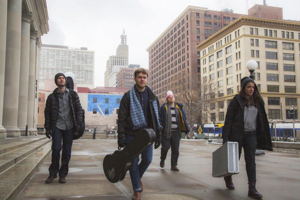 Geyser walks through Minneapolis. Photo courtesy of Juliet Kelson '20.