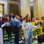 Sunrise Movement rallies at Minnesota State Capital