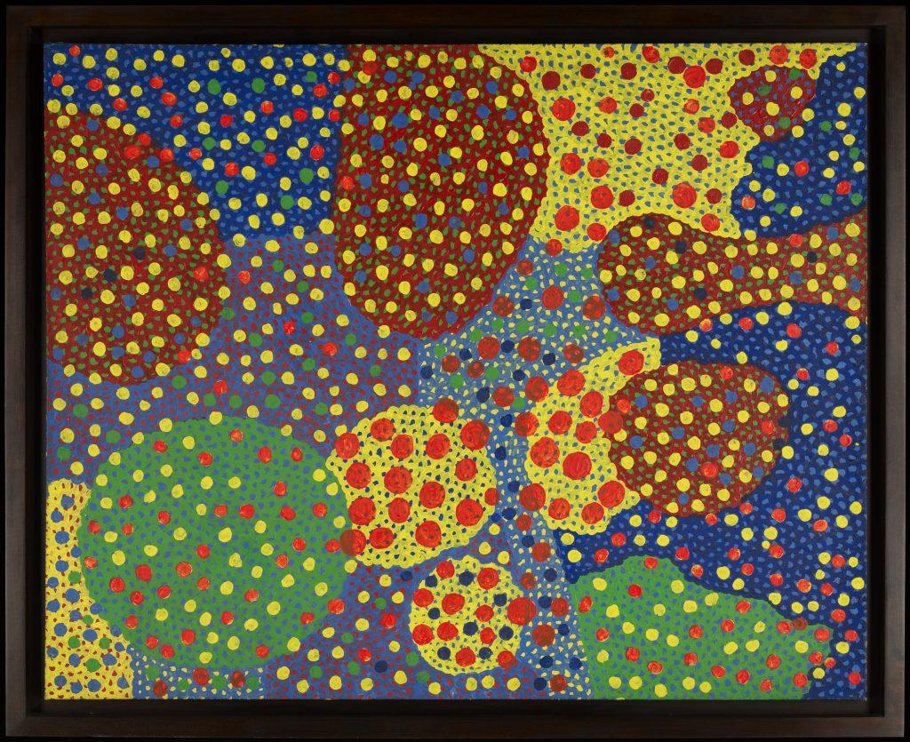 Yayoi+Kusama%E2%80%99s+painting%2C+%E2%80%9CUntitled%E2%80%9D+%281967%29%0A