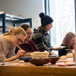 Empty Bowls: civic engagement through ceramics