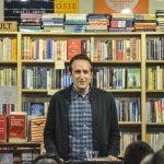 Peter Bognanni launches his third book at Common Good Books