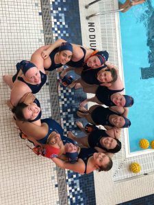 Women's Water Polo three-peats at CWPA championships