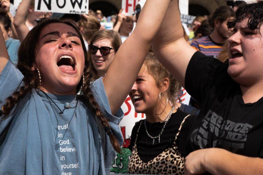 Minnesota climate strike: photo story