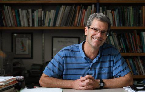 Geography professor William Moseley. Photo by Kori Suzuki '21.