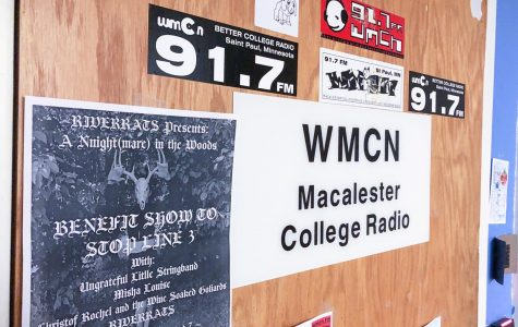 The outside of the WMCN office. Photo by Malcolm Cooke '21.