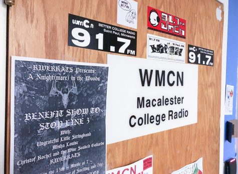 WMCN managers unveil remodeled office and semester of events