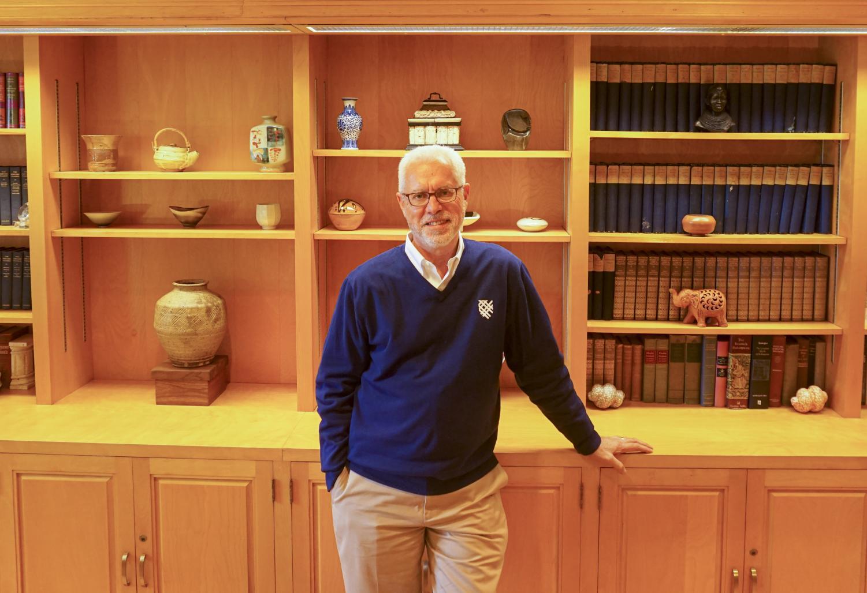President Brian Rosenberg. Photo  by Smith Mayse '22.