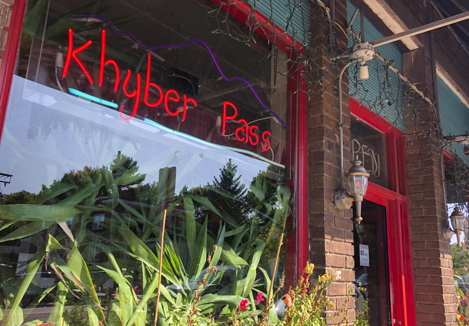The entrance to Khyber Pass. Photo by Lily Denehy '22.