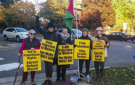 Women Against Military Madness organizes for Palestinian rights