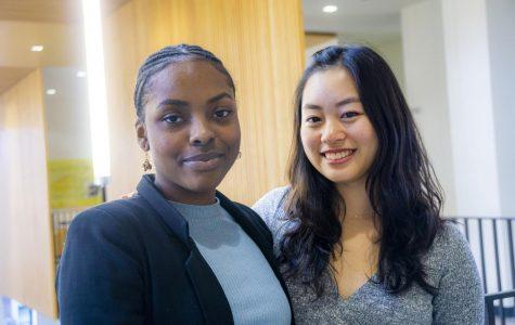 Blair Cha '20 and Jordanella Maluka '23. Photo by Summer Xu '20.