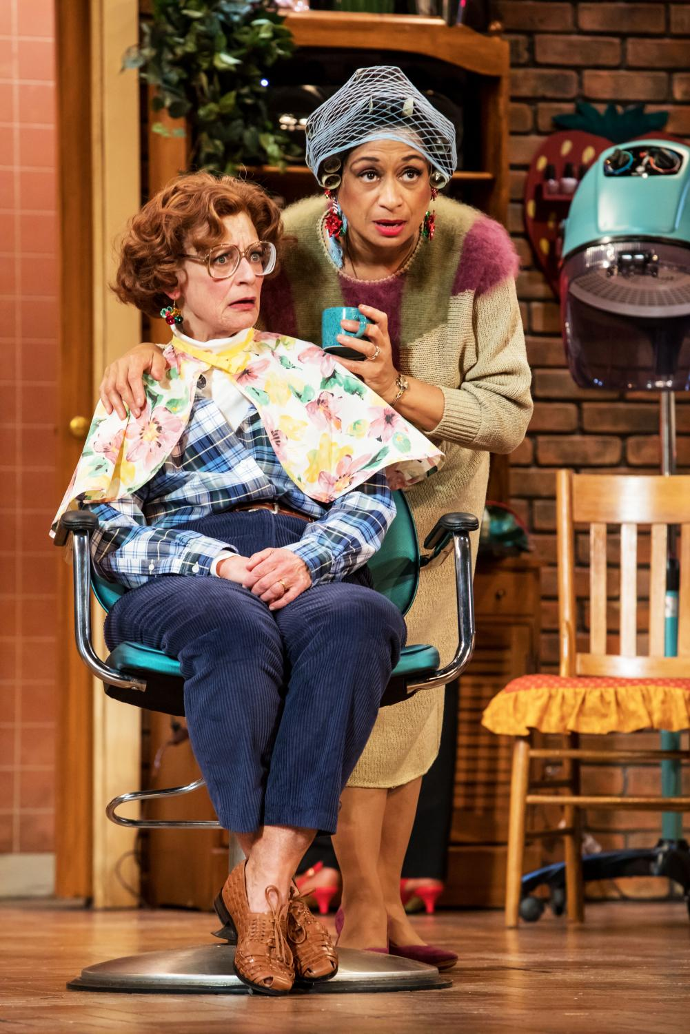 "Actors in Robert Harling's ""Steel Magnolias."" Photo courtesy of the Guthrie Theater."