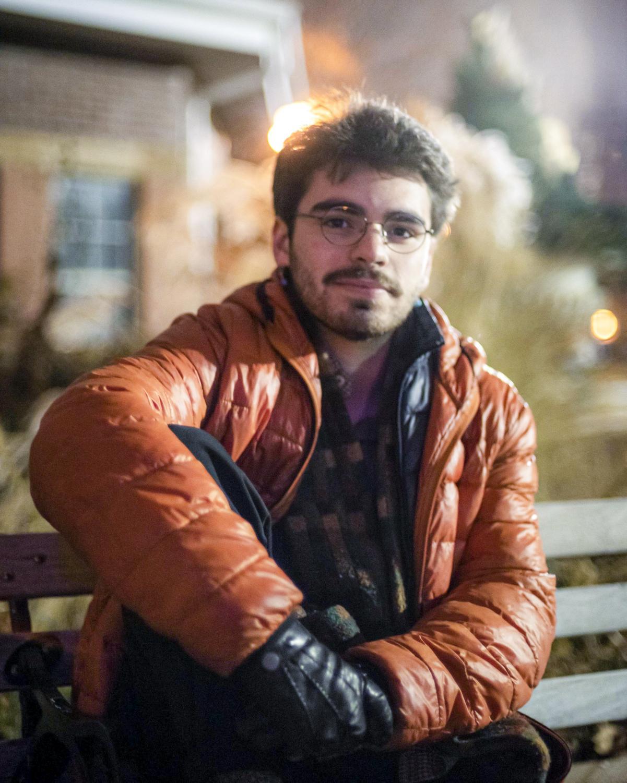 Nico Diaz de Leon '21. Photo courtesy of Michael Brandt '22.
