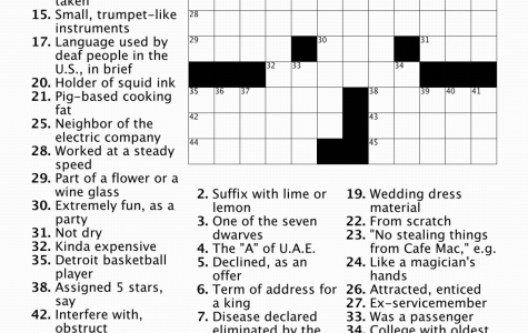 12/6/19 Crossword and Answers