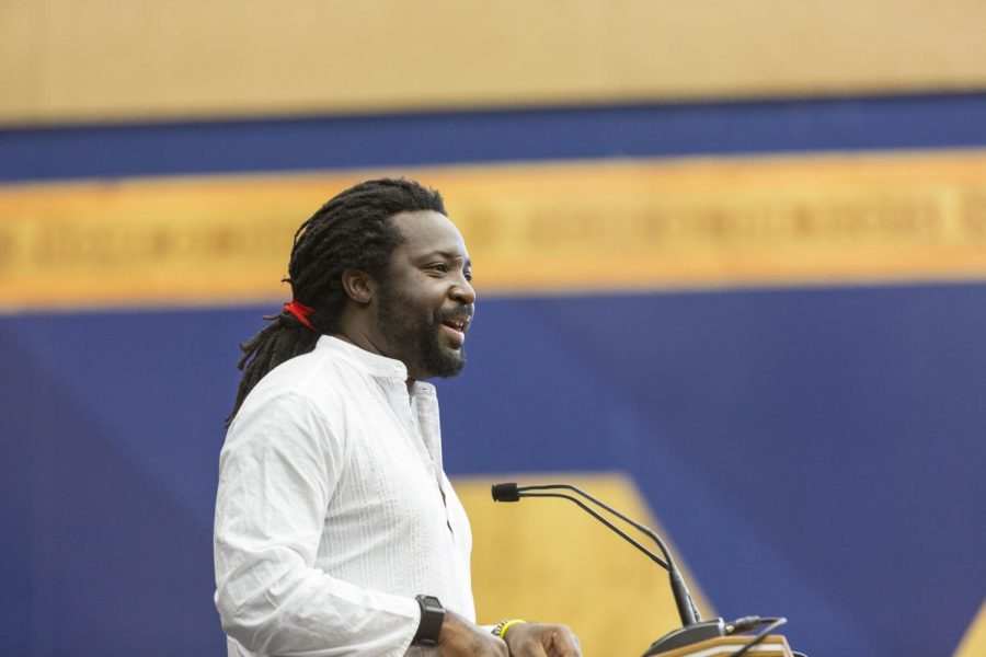 Marlon James. Photo courtesy of Macalester College.