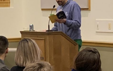 Poet Ross Gay offers inspiration to the Macalester community