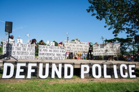People poured into Powderhorn Park to meet with city councilors face-to-face about the reformation of the MPD in June 2020. Photo by Kori Suzuki