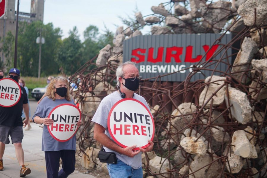 Mac alums rally for Surly Brewing union
