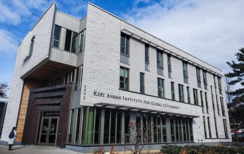 Markim hall, home to the Kofi Annan Institute for Global Citizenship. Photo by Celia Johnson '22.